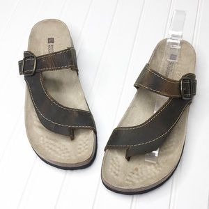 New White Mountain | Carly Flatbed Sandals